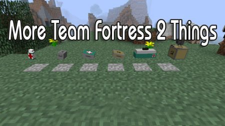 More Team Fortress 2 Things для Minecraft 1.4.7