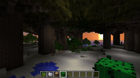 Huge Trees are Huge мод для Minecraft 1.4.7