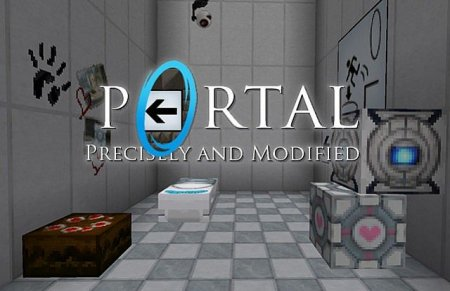 Precisely Portal and Modified Portal текстур пак для Minecraft 1.6.2/1.6.1/1.5.2/1.4.7
